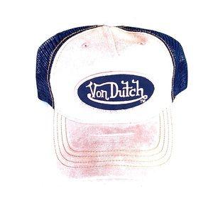 Pink Suede Von Dutch Hat